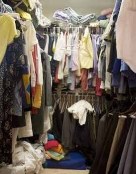 This is not my actual closet.