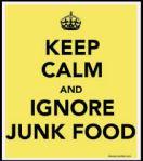 ignore junk food