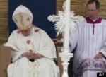 pope asleep