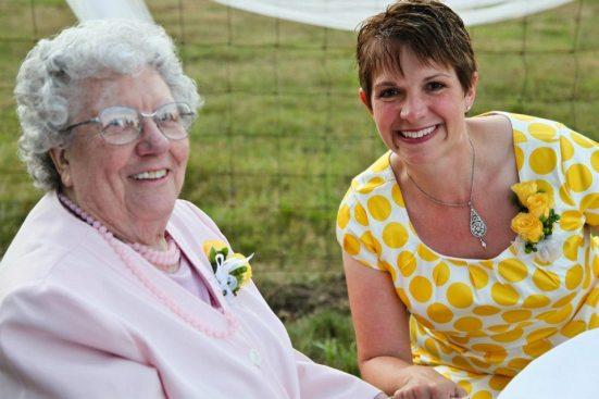 me & granny