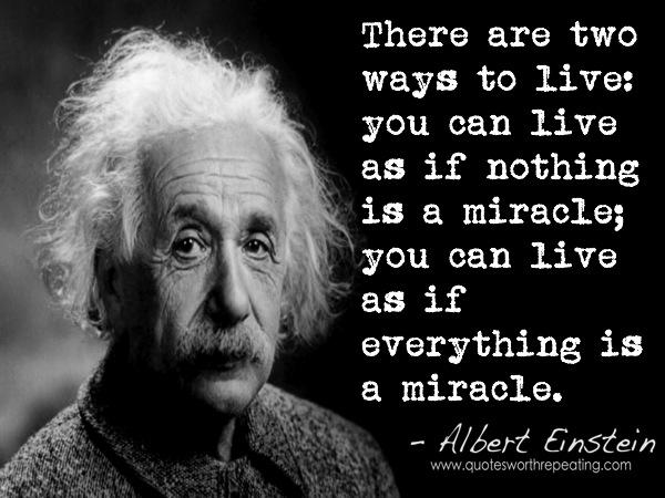 Albert Einstein : the miracle mind